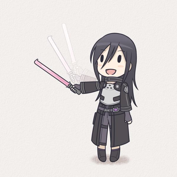 剣振りキリトさん