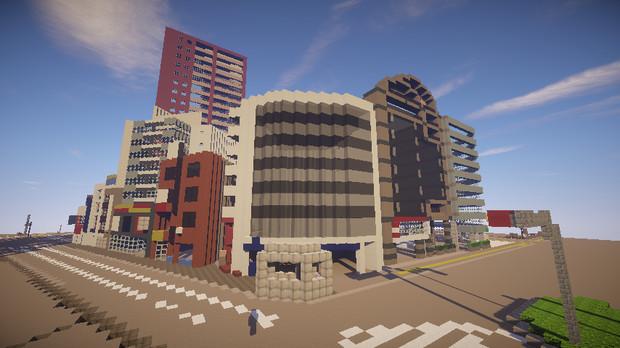 【Minecraft】八王子市再現プロジェクト
