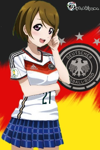 ドイツ代表(14H) x 小泉花陽(ラブライブ!)