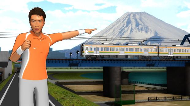 【MMD】背景富士山【モデル配布】
