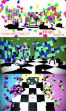 【MMDステージ配布】ブロックステージ
