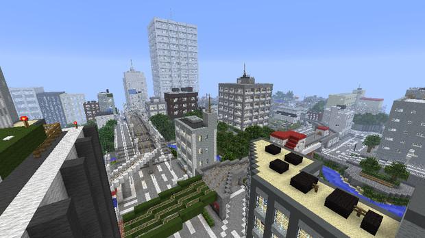 【Minecraft】現代日本風都市をつくろう!2【本京市】