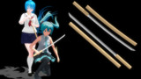【MMD】鍔の無い刀(長ドス)【モデル配布】