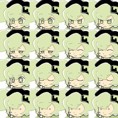 RPGツクール用マクネナナ(Mac音ナナ)顔グラフィック