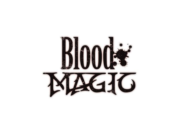 Blood Magicのロゴも作ってみた