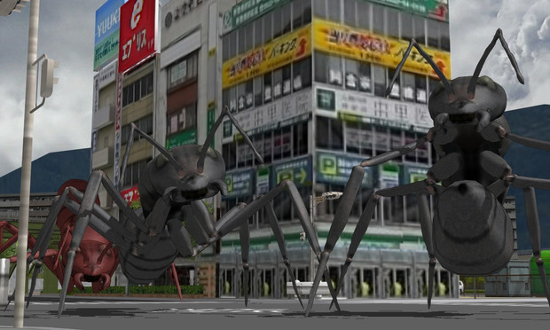 [MMD]甲殻巨大生物ver2