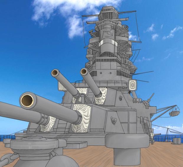 長門型戦艦1番艦長門、抜錨する!