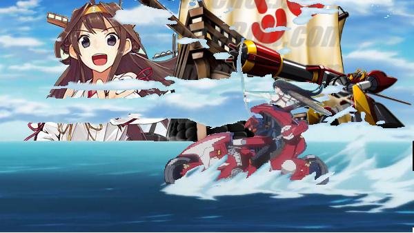 【水上スキーコラ】