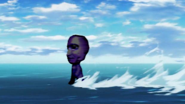 水上鬼ごっこ