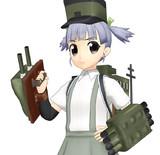 【MMD艦これ】駆逐艦 大潮ですよー。【配布】
