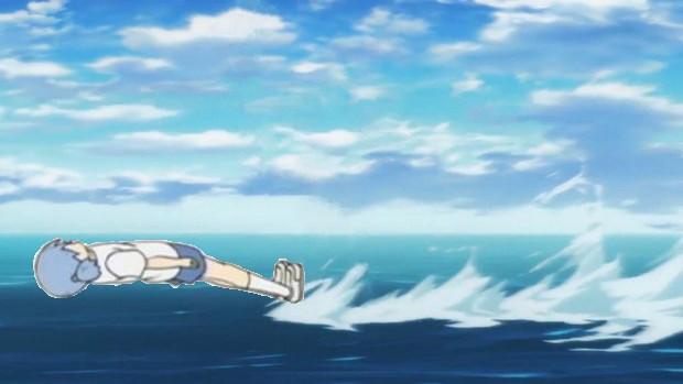 これが本当の魚雷飛び