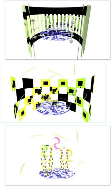 狂喜乱舞・エレクト2ステージセット【ステージ配布】