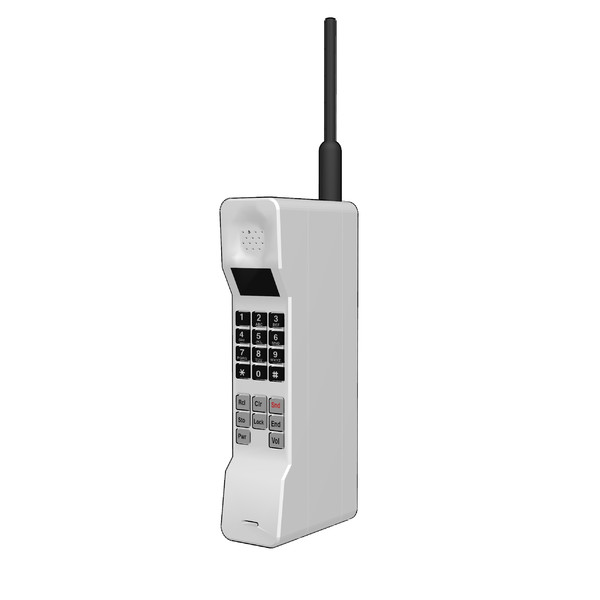 [MMDアクセサリ] 旧型の携帯電話