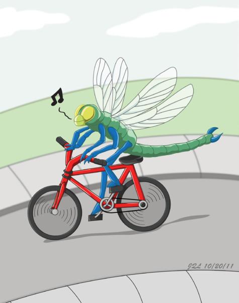 トンボが自転車に乗って 2