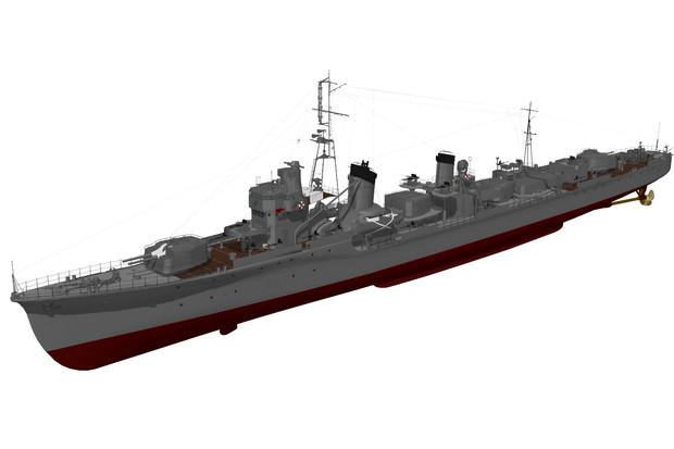 【モデル配布】駆逐艦「時雨」1944
