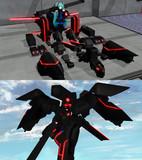 [MMDモデル仮配布]試製らぶ式ミク用拡張装甲