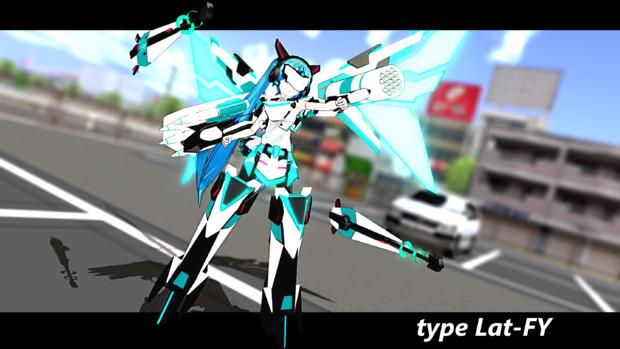 【MMD】飛行ユニット その2【配布あり】