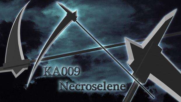 【MMD武器】KA009 Necroselene / ネクロセレーネ 【大鎌】