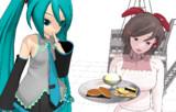 【MMDモデル配布】甘味処間宮セット【お抹茶飲みたい】