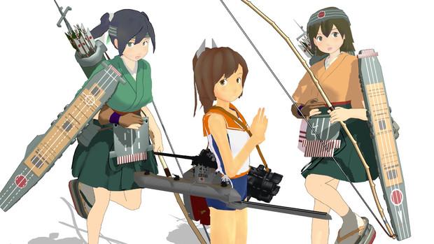 401艤装換装、蒼飛龍改2 (改変モデル更新)