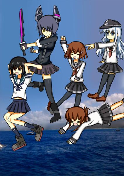 艦これ序盤のメンバー