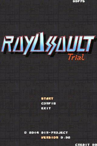 RAYASSAULT Trial version,もう少ししたら公開できる...かなぁ。