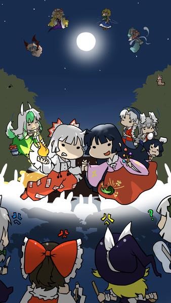 永夜抄の祭