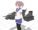 青葉さんのアレンジ艤装配布【MMDモデル配布】