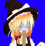 そばを食べるUDK姉貴BB