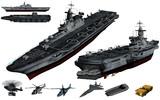 MMD用モブ強襲揚陸艦セット