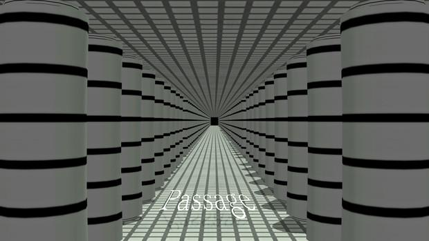 【MMD】通路-Passage【配布】