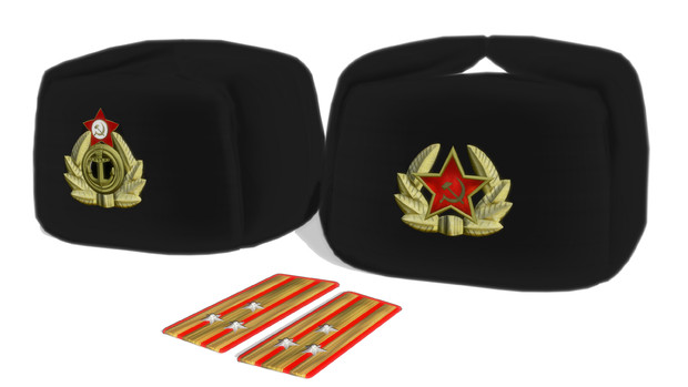 【モデル配布】Ушанка(ВМФ СССР)