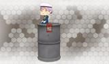 【MMD艦これ】ドラム缶妖精ver1.0