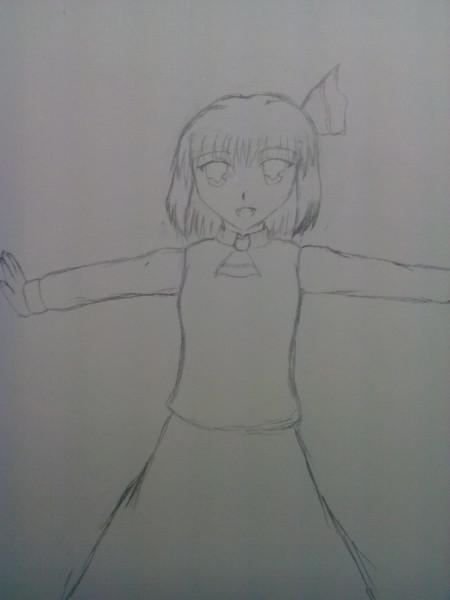 【シャーペン画】ルーミア