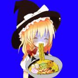 ラーメンを食べるUDK姉貴BB