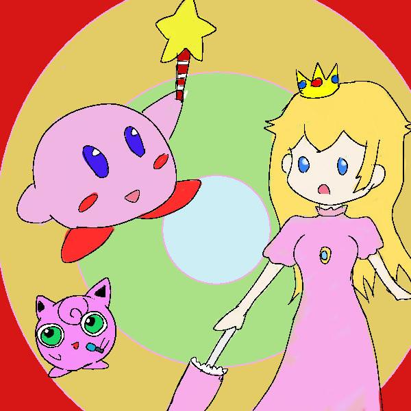 スマブラのピンク三人衆