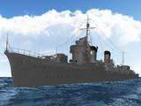 【MMD海軍】 特2A型駆逐艦修正しました。