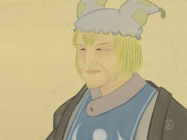 大塩平八郎の藍