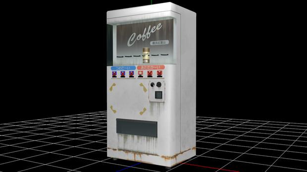 【MMD】オンボロ自販機