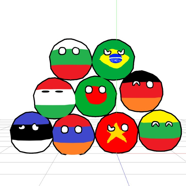 各種ポーランドボール