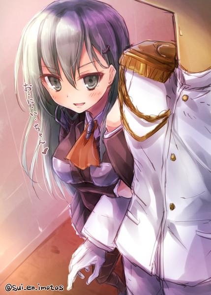 JK妹重巡洋艦。