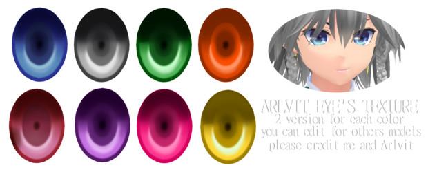 Arlvit Eyes Textures