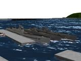 【MMD海軍】 特型・乙型・海大7型潜水艦 改装しました。