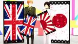 【アクセサリ配布】国旗衝立ver.2