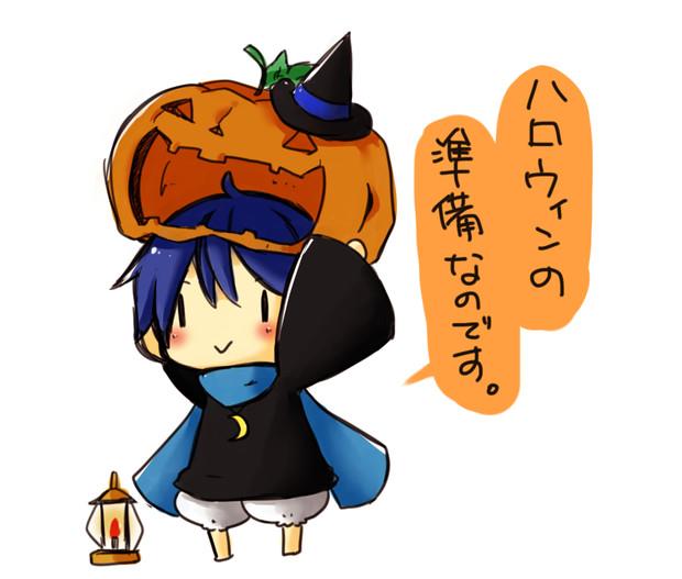 10月といえばハロウィン 会津智 さんのイラスト ニコニコ静画 イラスト