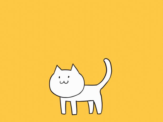 【GIFアニメ】ねこ