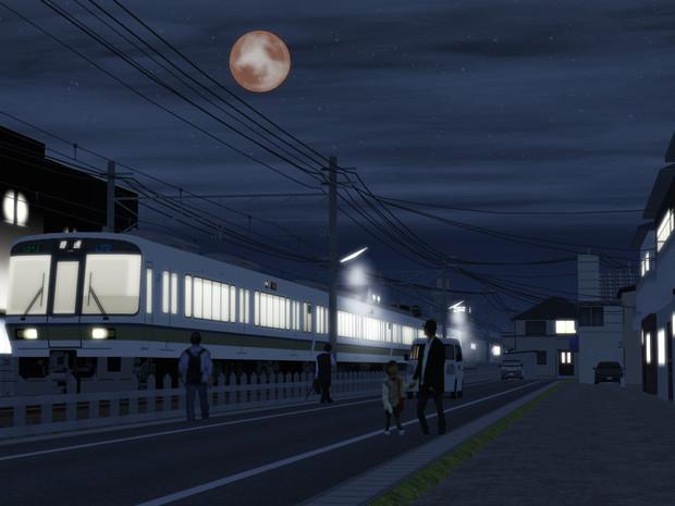 月消える夜に