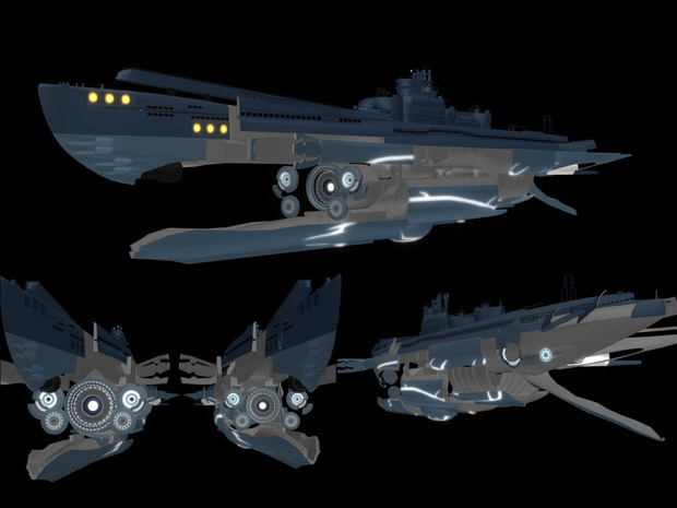【MMD海軍】I-401ver1.5