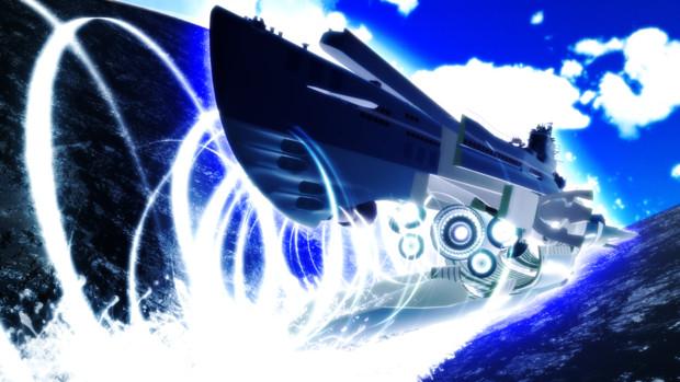 霧の潜水艦  再び