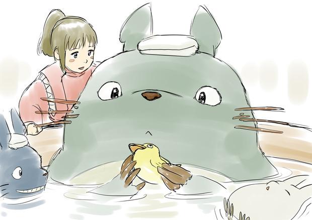 湯屋のトトロ
